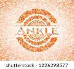 ankle orange tile background... | Shutterstock .eps vector #1226298577