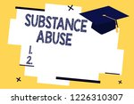 text sign showing substance... | Shutterstock . vector #1226310307