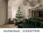 garland light bulbs. christmas...   Shutterstock . vector #1226327434