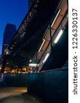 vintage chicago elevated cta...   Shutterstock . vector #1226330137