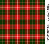 christmas and new year tartan... | Shutterstock .eps vector #1226345887