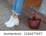 detail of fashionable young...   Shutterstock . vector #1226377657