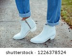 detail of fashionable young...   Shutterstock . vector #1226378524