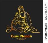 illustration of happy gurpurab  ... | Shutterstock .eps vector #1226464474