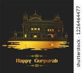 illustration of happy gurpurab  ... | Shutterstock .eps vector #1226464477