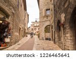 assisi  italy   october 27 ... | Shutterstock . vector #1226465641