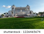 rome  italy   october 26  2018  ... | Shutterstock . vector #1226465674