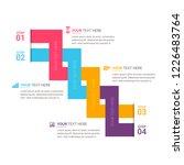 modern infographics template | Shutterstock .eps vector #1226483764