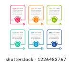 modern infographics template | Shutterstock .eps vector #1226483767