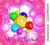 merry christmas. christmas... | Shutterstock .eps vector #1226498194
