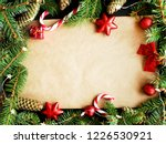 colorful christmas background... | Shutterstock . vector #1226530921