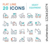 set of line icons  sign and...   Shutterstock . vector #1226616574