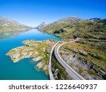 bernina express   bernina pass ... | Shutterstock . vector #1226640937