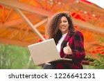 portrait of gorgeous  smiling... | Shutterstock . vector #1226641231