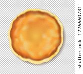 pancake isolated transparent... | Shutterstock . vector #1226660731