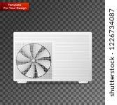 air conditioner vector linear... | Shutterstock .eps vector #1226734087