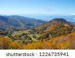 view of the autumn leaves of...   Shutterstock . vector #1226735941