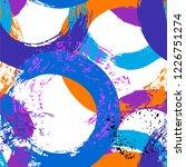 seamless background pattern ... | Shutterstock .eps vector #1226751274