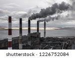 coal fossil fuel power plant... | Shutterstock . vector #1226752084