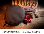 black tactical pouch with... | Shutterstock . vector #1226762341
