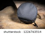 nylon pouch for carrying... | Shutterstock . vector #1226763514