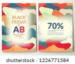 black friday flyer template... | Shutterstock .eps vector #1226771584