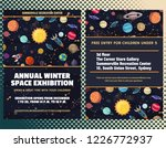event flyer template with... | Shutterstock .eps vector #1226772937