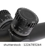tactical style windage turret... | Shutterstock . vector #1226785264