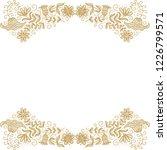 floral frame. vector... | Shutterstock .eps vector #1226799571