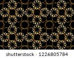 black  brown and beige colors... | Shutterstock . vector #1226805784