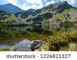 mountain lake panorama view in... | Shutterstock . vector #1226821327
