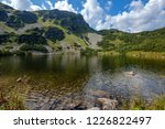 mountain lake panorama view in... | Shutterstock . vector #1226822497