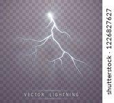 lightning flash bolt. lightning ... | Shutterstock .eps vector #1226827627