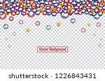 social nets blue thumb up like... | Shutterstock .eps vector #1226843431