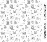 stem science vector minimal... | Shutterstock .eps vector #1226853934
