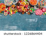 colorful candies mixed | Shutterstock . vector #1226864404