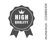 high quality word and crown...   Shutterstock .eps vector #1226882434