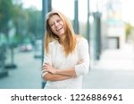 beautiful woman 30 years old... | Shutterstock . vector #1226886961