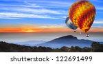 landscape of sun rise at doi... | Shutterstock . vector #122691499