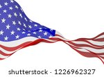 waving flag of the united... | Shutterstock . vector #1226962327