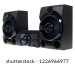 stereo system on a white...   Shutterstock . vector #1226966977
