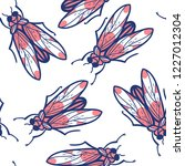 vector seamless pattern with...   Shutterstock .eps vector #1227012304