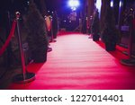 red carpet is traditionally... | Shutterstock . vector #1227014401