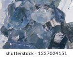 celestine mineral texture as... | Shutterstock . vector #1227024151