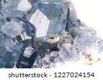 celestine mineral texture as... | Shutterstock . vector #1227024154