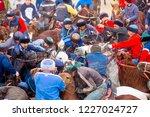 shymkent  kazakhstan  november... | Shutterstock . vector #1227024727
