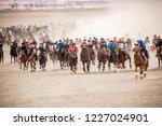 shymkent  kazakhstan  november... | Shutterstock . vector #1227024901