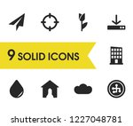 mixed icons set with...