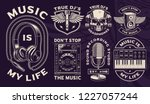set of vector badges  logos ... | Shutterstock .eps vector #1227057244