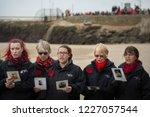 folkestone  kent  uk   november ... | Shutterstock . vector #1227057544